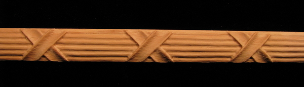 Image Frieze Moulding - Reed and Ribbon