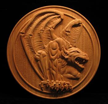 Image Gargoyle Panel