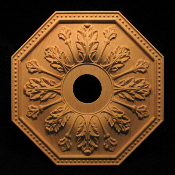 Image Medallion - Acanthus Leaves, 16