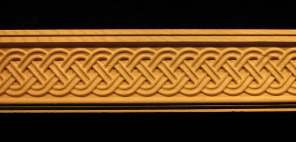 Image Moulding - Celtic Double Weave