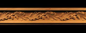 Image Moulding - Acorns and Oak Leaves