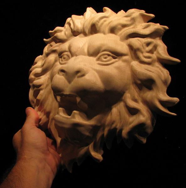 Applique - Onlay Lion Head