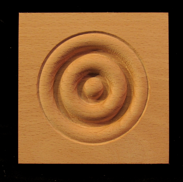 Image Corner Block - Classic Bullseye style #2 size 3
