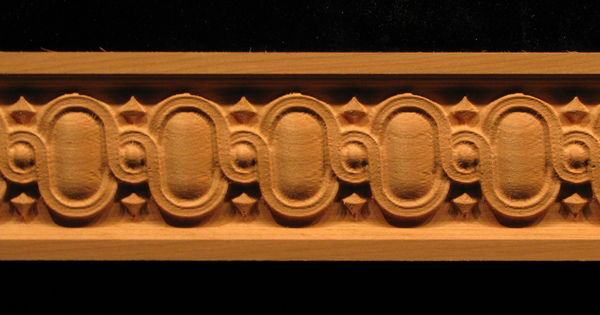 Image Frieze Moulding - Egg and Dart Full
