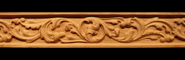 Image Frieze Moulding - Acanthus Whimsey