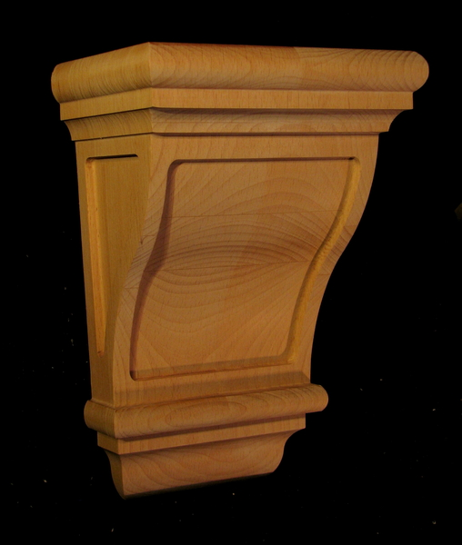 Corbel Craftsman Classic Carved Wood