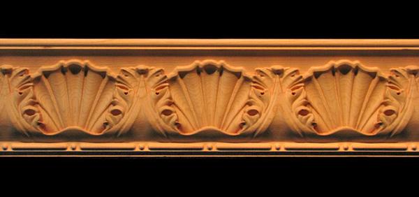 Image Moulding - Large - Acanthus w Shell