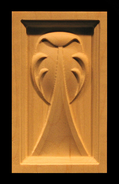 Image Corner Block - Acanthus Transitions