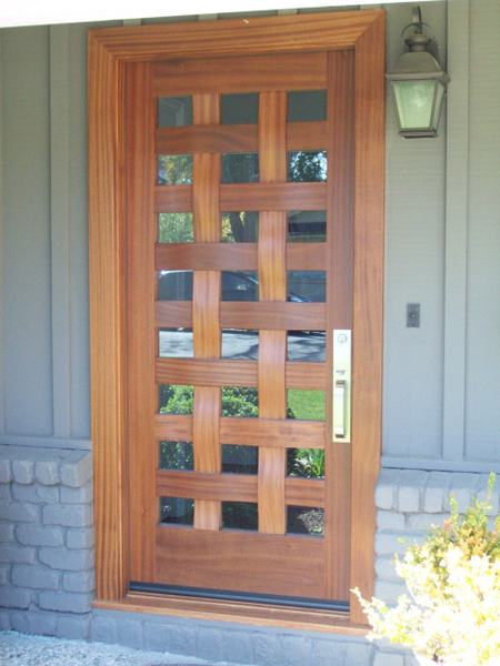 Image Woven Door - White Bird Doors
