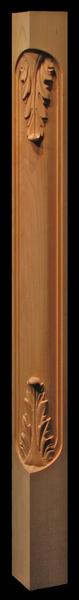 Image Corner Post  - Acanthus