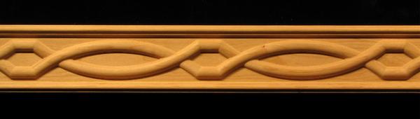 Image Frieze Molding - Chain Weave