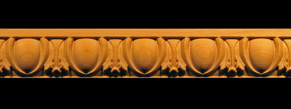 Image Frieze Moulding - Egg & Acanthus