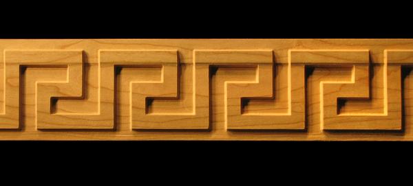 Image Frieze Moulding - Greek Keys