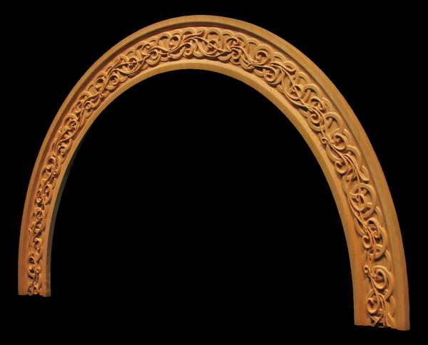 Image Arched Window Frieze - Celtic Nouveau
