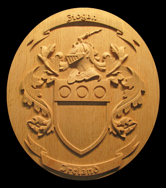 Hogan Family Crest | Whimsical Art, Medallions, & Client Projects