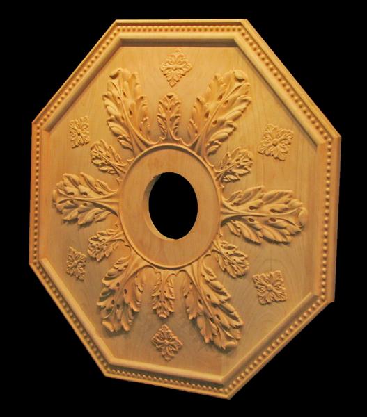 Image Ceiling Medallion - Acanthus