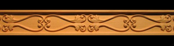 Image Frieze Moulding - Simple Volutes