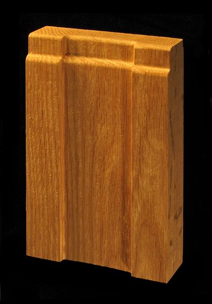 Plinth Block Craftsman Side View