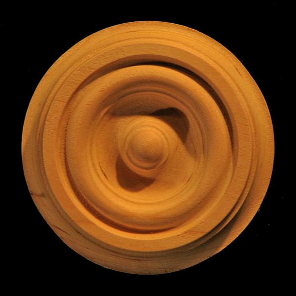 Image Rosette - Bullseye #9 size 2.5