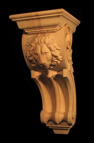Image Corbel - Regal Lion - Large 21