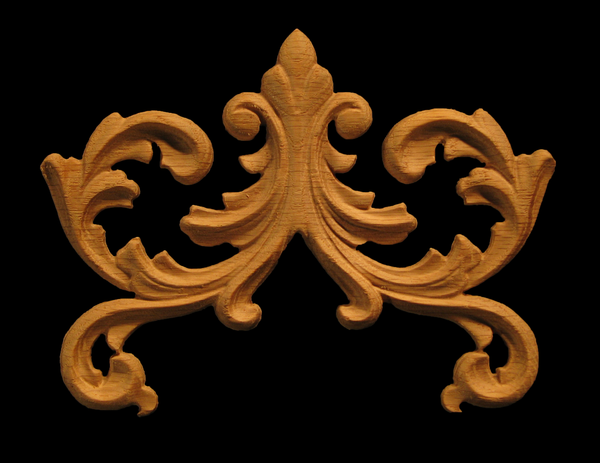 Image Onlay - Crowned Volutes