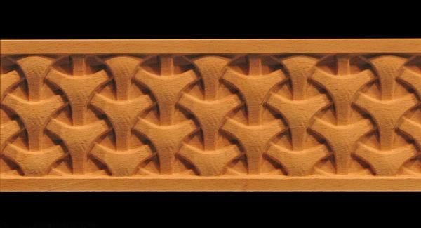Image Decorative Frieze Moulding - Tri Weave