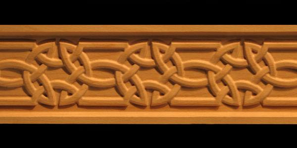 Image Frieze Moulding - Celtic Knot 2