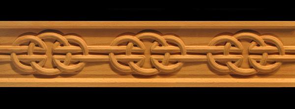 Image Frieze Moulding - Celtic Round Knot
