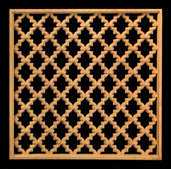 Image Panel-Marrakesh, Pierced
