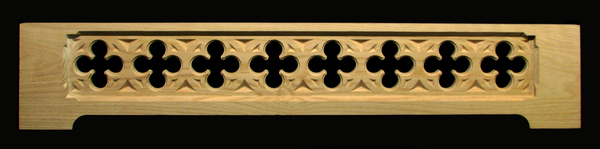 Image Range Hood Panel - Gothic Quatrefoil