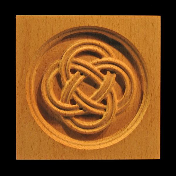 Image Corner Block - Celtic Eternal Knot