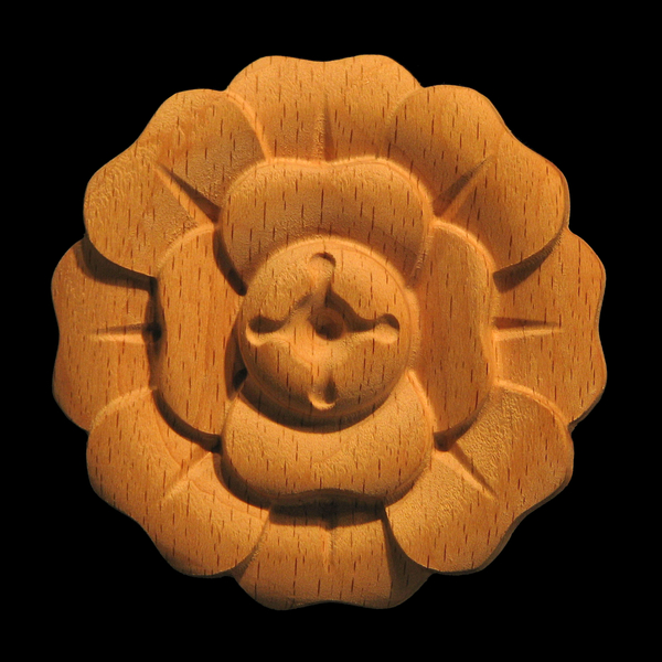 Image Rosette - 8 Petal Flower