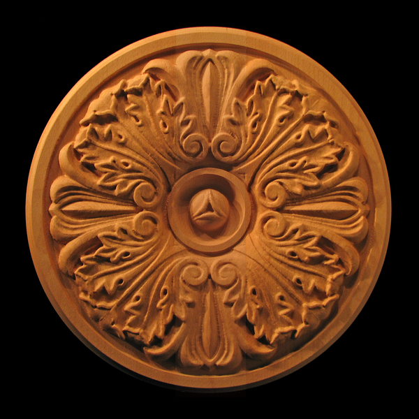 Image Medallion - Acanthus with Volutes