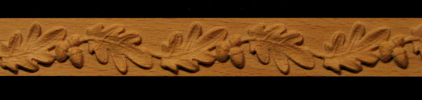 Image Detail Molding - Oak Leaf and Acorns