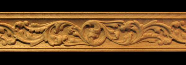 Image Crown Molding - Acanthus Whimsey