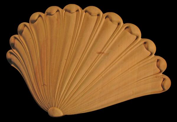 Image Niche Shelf Pedestal - Shell