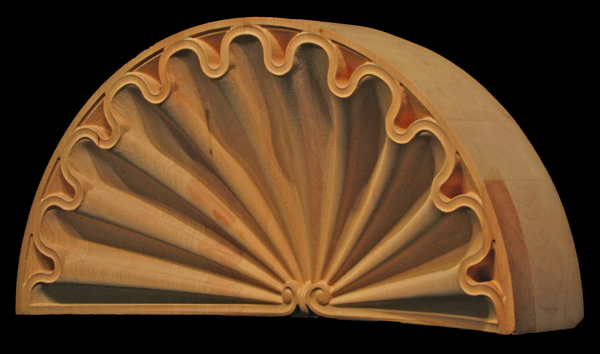 Image Niche Shelf - Clamshell