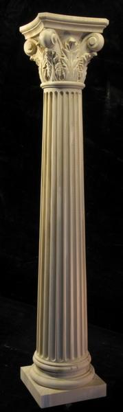 Carved Wood Column - Corinthian 8