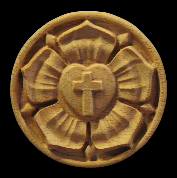 Luther Rose Rosette | Church and Liturgical Themes