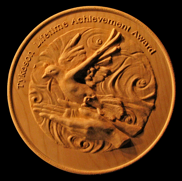 Tykeson Award Medallion | Signs and Things