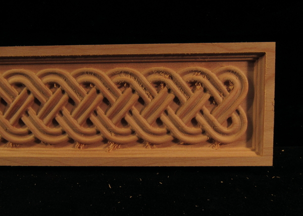 Image Clearance - 3PC Celtic Double Weave, Cherry, 2.5