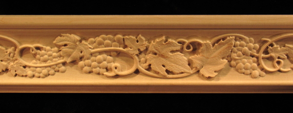 Image Moulding - Tuscan Grapes and Vines