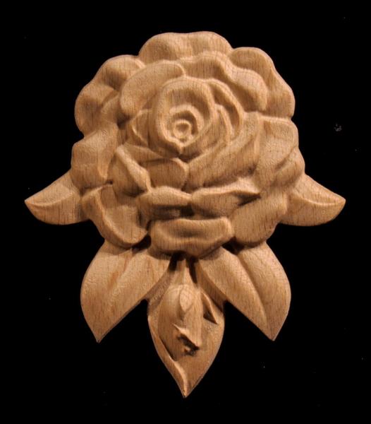 Image Onlay - Rose Drop , Short