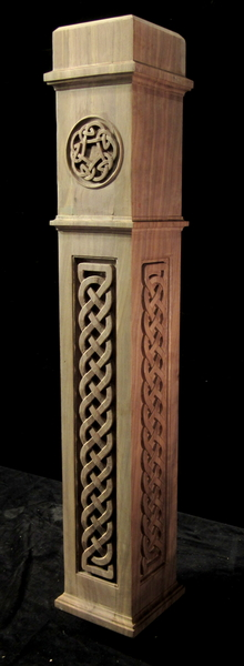 Image Celtic Knot Newel Post