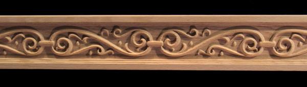 Image Frieze Moulding - Ornamental Iron