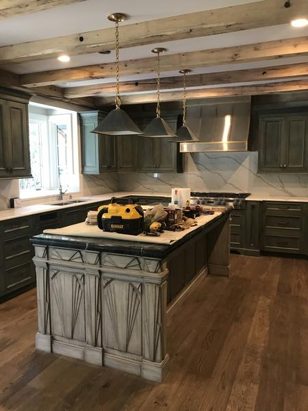 Art Deco Kitchen Island | Kitchen Islands and Bars