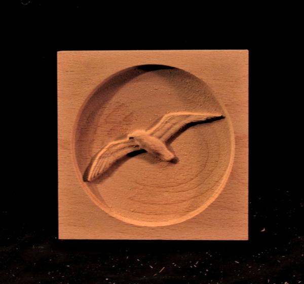 Image CLEARANCE - Seagull Corner Block - 2PC