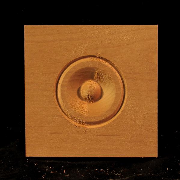 Image CLEARANCE - Bullseye Corner Block - 5.5