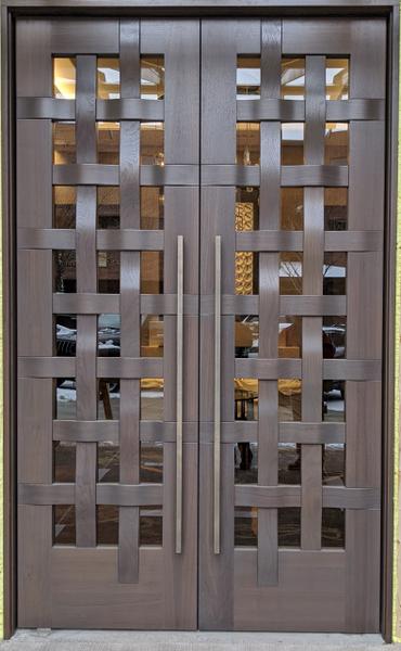 Image Woven Door 2 - White Bird Doors