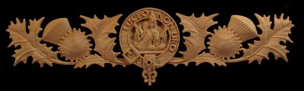 Mackenzie Clan Crest and Scottish Thistle